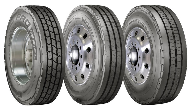 Cooper has expanded its TBR business with the launch of three Cooper brand TBR tire lines. The Pro Series, Work Series and Severe Series lines are designed for specific applications.