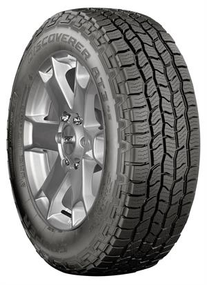 The Cooper Discoverer AT34S is available in 37 sizes from 15- to 20-inch rim diameters.