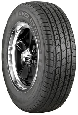 Cooper's Evolution H/T all-season tire is available in 28 popular sizes.