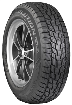 The Evolution Winter tire will be available in fall 2018 in 40 sizes.