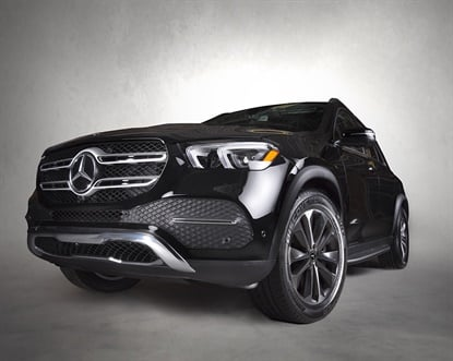 TheMercedes-Benz GLE premiered in October 2018 at the Paris Motor Show. It's the first Mercedes to include an OE fitment from Cooper.