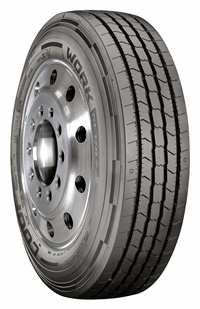 The Work Series All Steel All Position (ASA) tire is an all-position, steel-belted tire, with a less aggressive tread pattern.