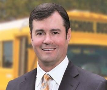 John J. Corrado of Suffolk Transportation Service in New York is the 50th recipient of School Bus Fleet's Contractor of the Year award.
