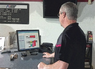 Craig Chrisman says his automated bay and appointment scheduling system has improved his service shop's productivity by better managing his technicians' time.