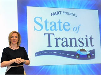 Katharine Eaganwill departHART after nearly eight years of service, leaving behind a legacy of innovation and a strong foundation for future growth, officials said. Photo courtesy of HART