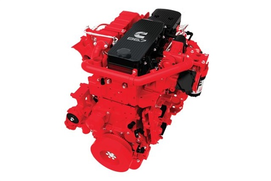 Cummins has expanded its suite of Connected Solutions to enhance support for school bus engine customers. Seen here is the Cummins B6.7 engine.