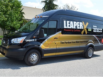 The collaborative on-demand service, called Leaper X, includes a web-based mobile application powered by Cummins.