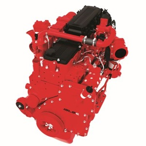 The 2017 L9 diesel is the newest generation of Cummins' L Series engines. Seen here is the 2013 ISL9.