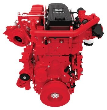 The Cummins B4.5, B6.7 (pictured), and L9 engine platforms are compatible with paraffinic renewable diesel fuels meeting the EN 15940 specification.