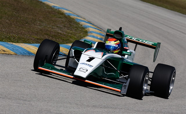 Carlos Cunha, from Campinas, Brazil,recorded the fastest time in the final one-hour session.