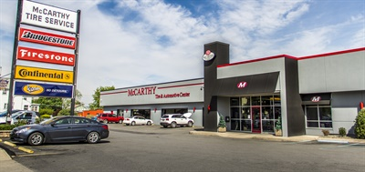 McCarthy Tire will move its Wilkes-Barre, Pa., retread operations at its corporate headquarters (pictured) to a new facility, also in Wilkes-Barre, with greater capacity in September. Also housed at the headquarters are a retail store; commercial, industrial, and OTRtire sales and service; truck mechanical repair shop; mobile maintenance service; and wheel reconditioning service.