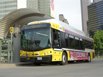 DART is adding 41 new CNG-fueled buses in 2019 to expand bus service and improve schedules and frequency.