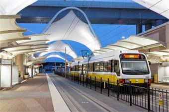 TEX Rail is tentatively scheduled to reach DFW's Terminal B by 2018 — enabling passengers to transfer to the Orange Line.