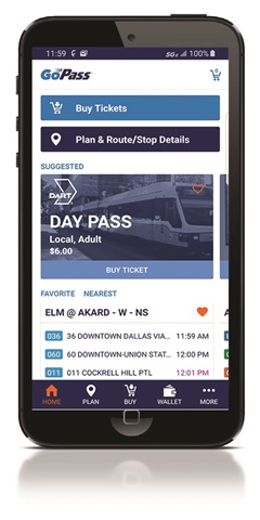 GoPass has always included Trinity Metro, but this new agreement, with an additional 24-month option, will bring several new features to the scope of the platform.DART