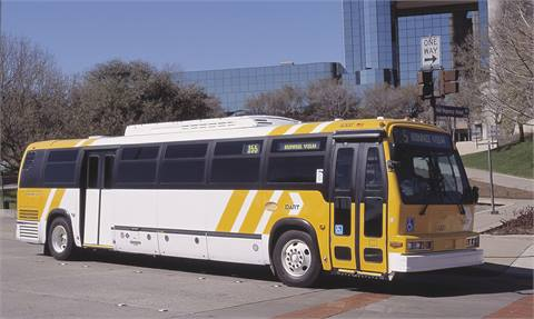 DART first introduced 110 liquefied natural gas buses in 1998.