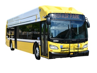 To date, 13 New Flyer XN-40 buses have been delivered from St. Cloud, Minnesota, with an additional three arriving weekly.