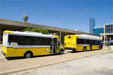 DART is currently building four fueling stations to support its growing fleet of CNG buses. The agency anticipates completing its transition in 2015.