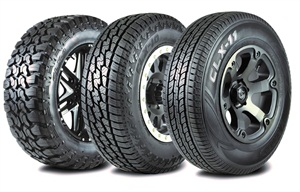 Sentury Tire has added three off-road tires to its product line: the CLX9 Mud Terrain, the CLX10 All-Terrain, and the CLX11 Highway Terrain.