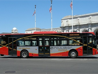 Under the terms of the contract, RATP Dev USA will directly supervise D.C. Circulator's daily operations for six Circulator routes and maintain the 72-bus fleet in support of nearly five million annual trips. Cool Caeser
