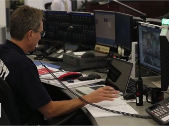Screenshot of Metro Rail Ops Control Center.