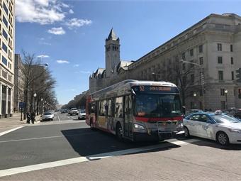 WMATA bus. Photo: JS/METRO Magazine