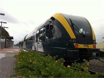 Stadler has provided DMUs for several American transit agencies, including Texas' DCTA. DCTA/Stadler