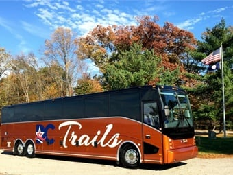 Since their inception, DC Trails has grown to a fleet of over 65 motorcoaches that provide charter services, Hop-on-Hop-Off Washington DC tours, and daily route services from the Washington D.C. region to New York City.