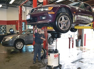 There are more than 200 ASE-certified technicians on the Tire Discounters' payroll, roughly two per outlet.