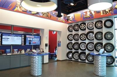 The company offers Michelin, Goodyear, Bridge-stone, Firestone, Yokohama, Cooper, Nexen, Falken, Kelly, BFGoodrich and Pirelli tires. Each store carries close to 2,000 tires in inventory.