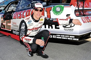 Brad Keselowski won the NASCAR Nationwide championship in 2010 and the Sprint Cup championship in 2012.