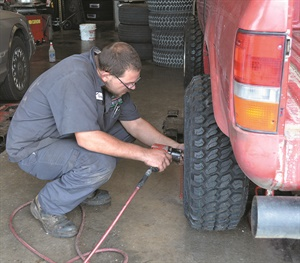 Travis Smith is one of Plaza Tire's 452 employees.