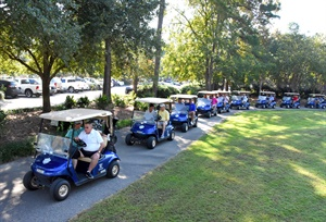 The 2017 golf tournament hosted by Black's Tire was held in Longs, S.C.