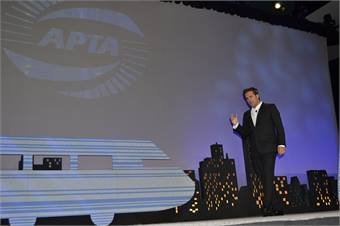 Richard Florida speaks at the 2011 APTA Expo on innovation and the economy, and how public transportations boosts both.