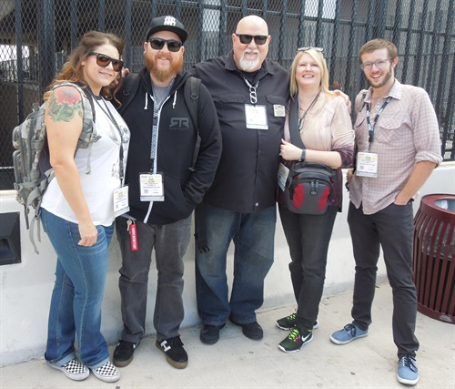 Wayne Williams was a SEMA Show regular. In 2016 he attended the show with his son, Ryan, and daughter-in-law, Chrissy, at left, and his wife, Tia, and her son, Jordan Johnson, at right.