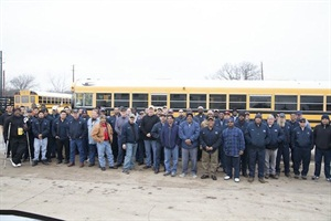 More than 80 Dallas County Schools techs took part in a lubrication training program hosted by Hydrotex.