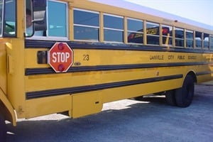 Danville Public Schools' new conduct policy for school bus riders took seven months to develop.