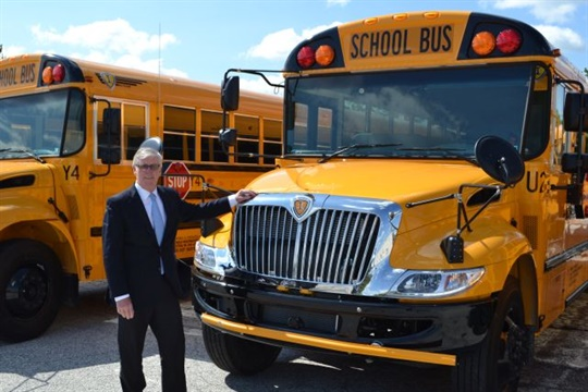 David Fitzgerald has been with Wolfington Body Co., an IC Bus and Collins dealership, for more than 30 years.