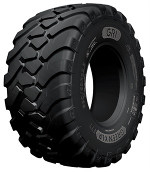 Designed for heavy-duty trailers, GRI's Green CLR F77 boasts a wide tread width to minimize soil compaction.