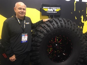 """Our role is to push the envelope on aggressive product looks and performance,"" says Mickey Thompson's Todd Pickens."