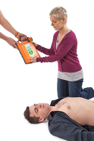 Having available AEDs and staff who are trained in their use is the best way to prepare for a sudden cardiac event. Photo: defibshop