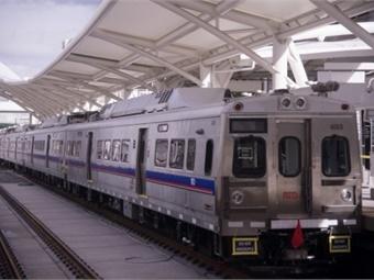 RTD commuter rail line. Photo: University of Denver