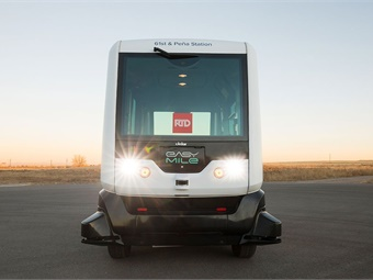 Transdev will operate the EasyMile autonomous shuttle for the Denver RTD in a new route called 61AV. Photo: RTD