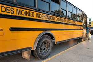A bus driver for Des Moines (Iowa) Public Schools passed away after suffering a medical emergency on Wednesday. The incident followed the death of a bus driver in Vallecitos, N.M., on Monday.