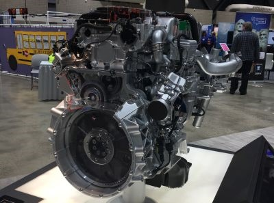 The Detroit DD5 diesel engine will be available for order in the Thomas Built Saf-T-Liner C2 in 2018.