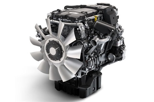 The 7.7-liter DD8 medium-duty diesel engine will be offered for the Thomas Built Saf-T-Liner HDX school bus starting in 2018.