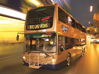 Routes serviced by Keolis include the Strip & Downtown Express and the Deuce along the iconic resort corridor of Las Vegas Boulevard, as well as residential routes along Sahara Boulevard, Flamingo Road, Maryland Parkway, and other corridors.