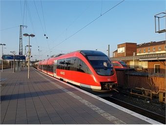 Deutsche Bahn largely operates Germany's interurban rail system.