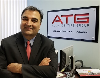 Dhaval Nanavati is the new president of Alliance Tire Americas.