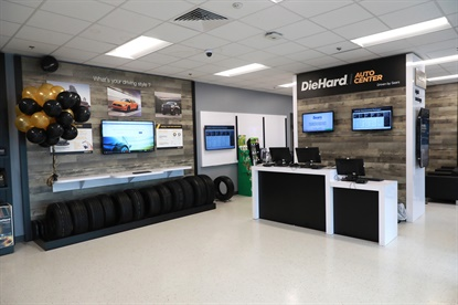Sears has renovated two of its former Sears Auto Centers into its new brand for service, DieHard Auto Center stores in the Detroit area.