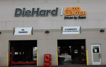 DieHard Auto Center stores focus on tire sales as well as automotive services, such as oil changes and alignments.